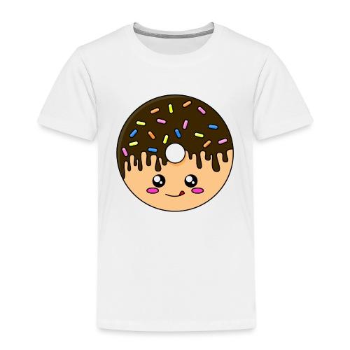 Donut Chocolat - T-shirt Premium Enfant