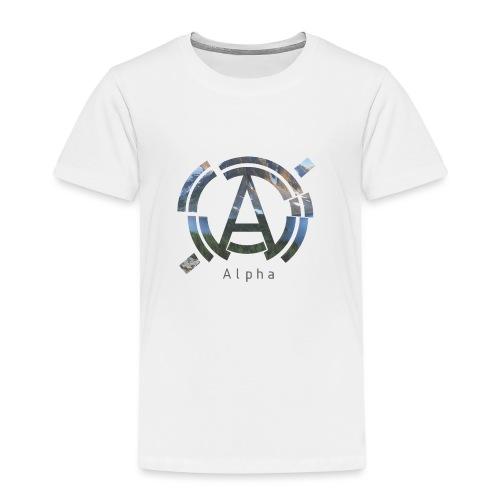 AlphaOfficial Logo T-Shirt - Kids' Premium T-Shirt