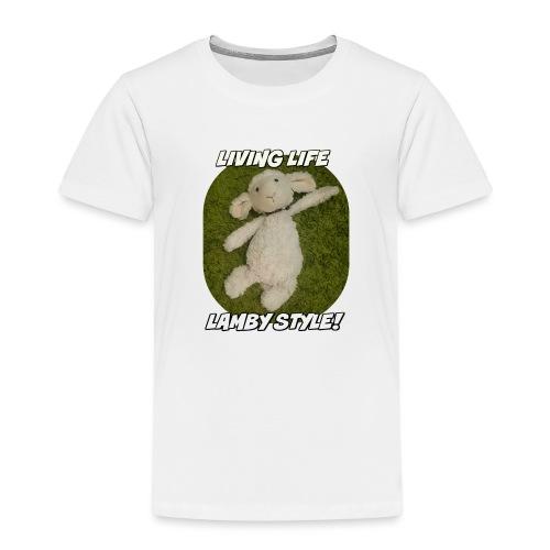 Lamby Mug - Kids' Premium T-Shirt
