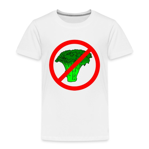 no broccoli allowed - Kids' Premium T-Shirt