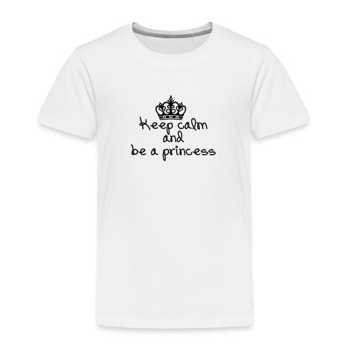Keep calm princess - T-shirt Premium Enfant