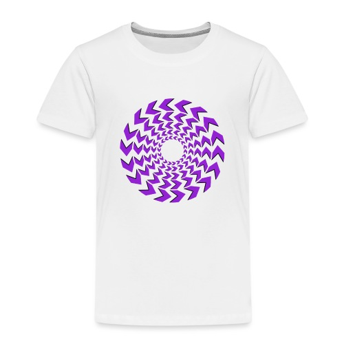 pyorre_lila - Lasten premium t-paita