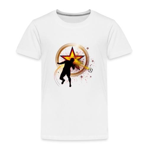 Kopfball Star Deutschland B - Kinder Premium T-Shirt