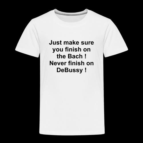 Bach DeBussy - Kids' Premium T-Shirt