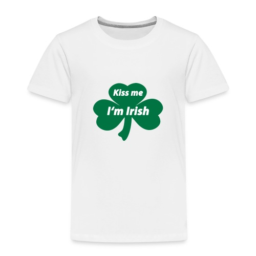 Kiss me I'm Irish - Kinder Premium T-Shirt