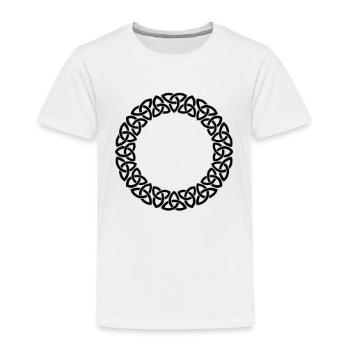Triskele Circle - Kids' Premium T-Shirt