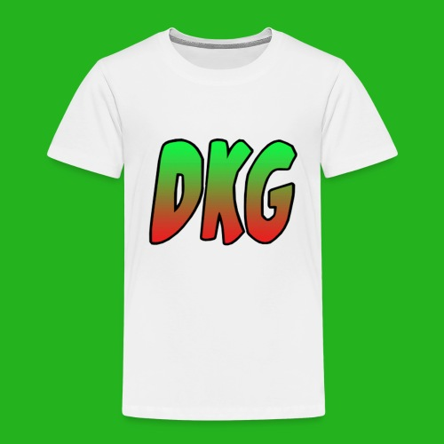 Red and black DKG Snapback - Kinderen Premium T-shirt