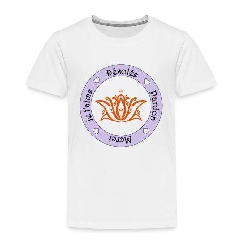 Tee shirt Bio Femme Ho oponopono - T-shirt Premium Enfant