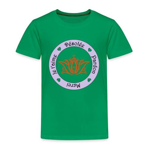 Tee shirt Bio Femme Ho oponopono - Kids' Premium T-Shirt