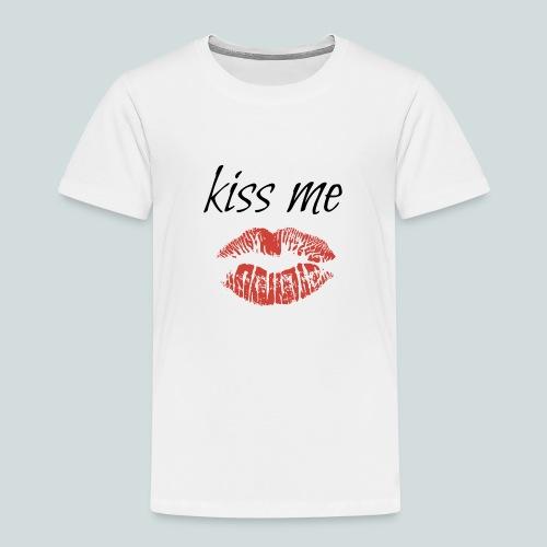 Kiss - Premium-T-shirt barn