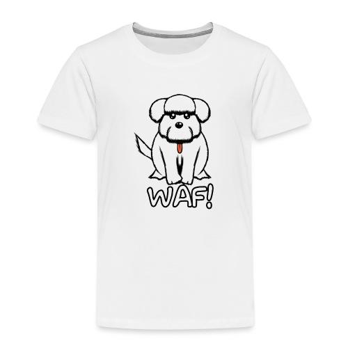 Puppy waf! - Camiseta premium niño