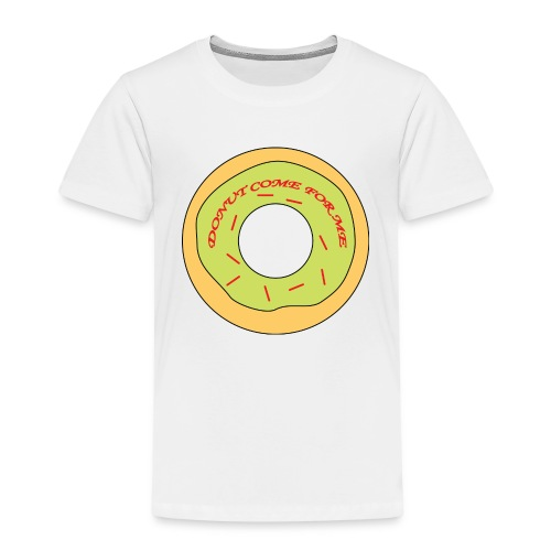 Donut Come For Me Red - Kids' Premium T-Shirt