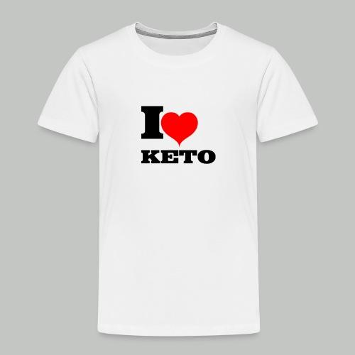 I-LOVE-KETO - Kinder Premium T-Shirt