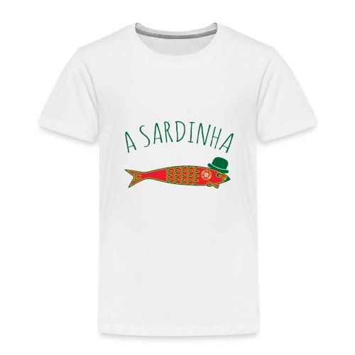 A Sardinha - Bandeira - T-shirt Premium Enfant