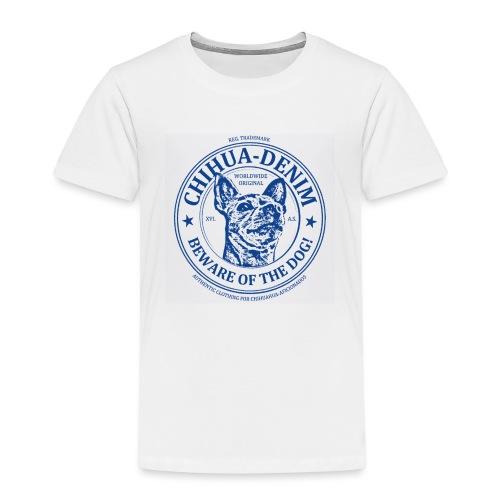 CHIHUA-DENIM Beware - Kinder Premium T-Shirt