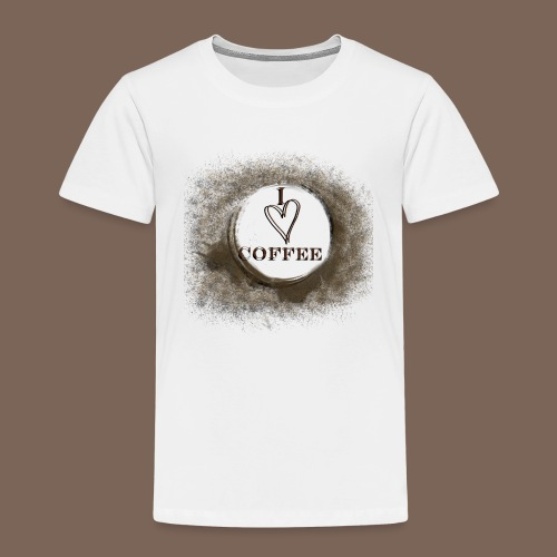 I Heart Coffee - Kids' Premium T-Shirt
