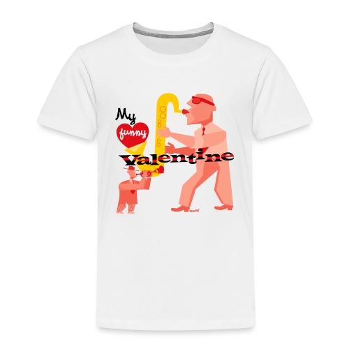 My funny valentine. jazz - Kids' Premium T-Shirt