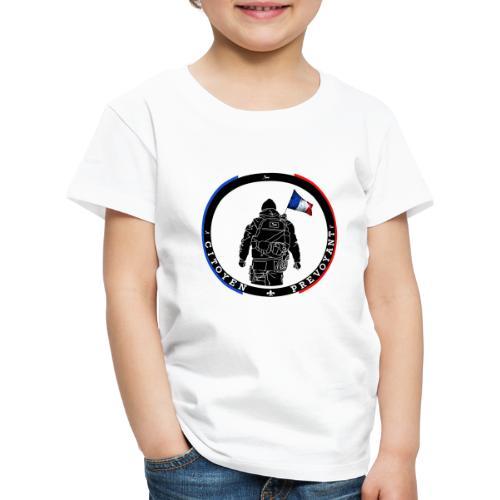 logo citoyen prevoyant2 - T-shirt Premium Enfant