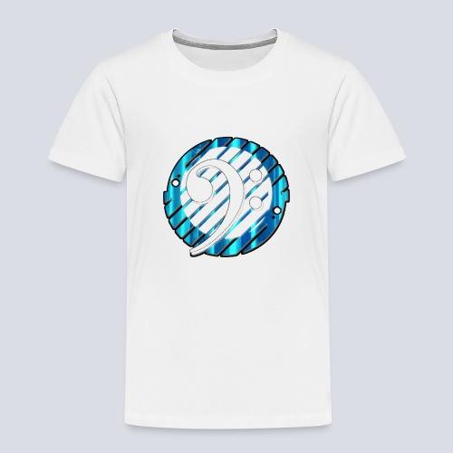 BassClef blue/white - Kids' Premium T-Shirt