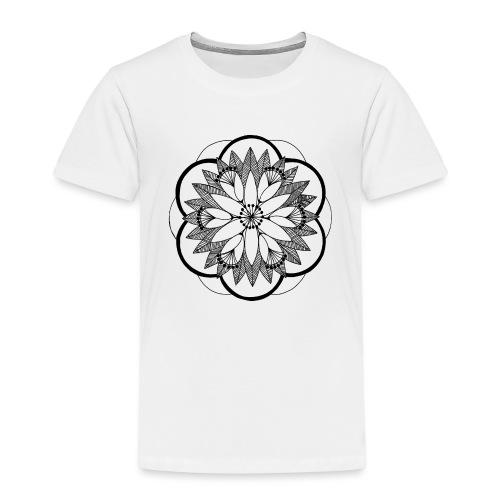 Pond Bouquet Mandala - Kids' Premium T-Shirt
