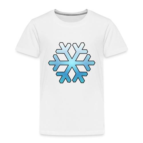 Schneeflocke - Kinder Premium T-Shirt