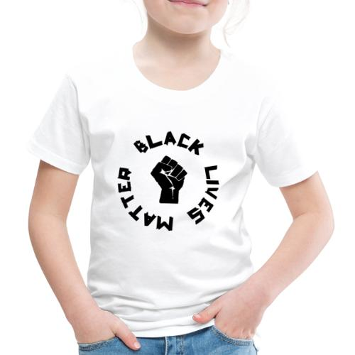 BLACK LIVES MATTER ROUND - Kinder Premium T-Shirt