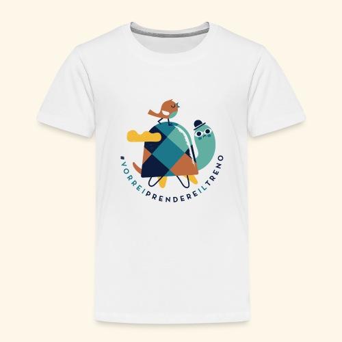 Tartaruga e uccellino - Maglietta Premium per bambini
