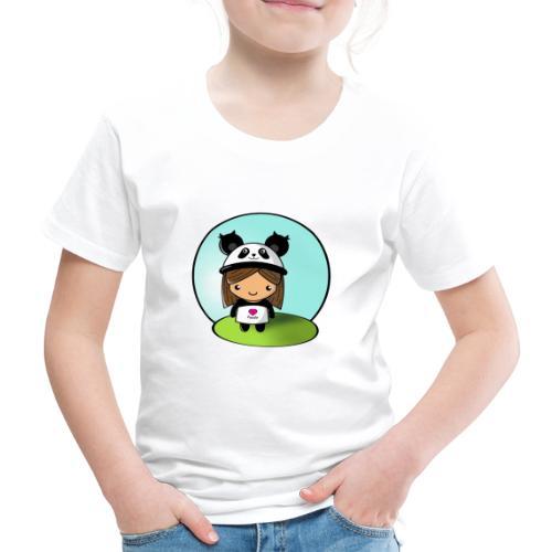 Panda tjej! - Premium-T-shirt barn