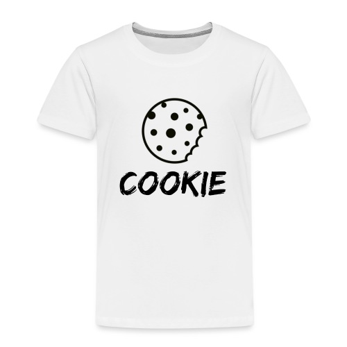 Cookie_-_Black_-_cookie - Kids' Premium T-Shirt