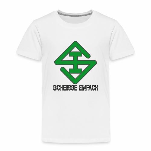 scheisse_einfach_logo_txt - Kinder Premium T-Shirt