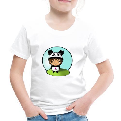 Panda killen - Premium-T-shirt barn