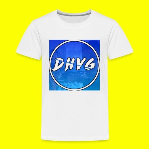 DusHeelVeelgamen New T shirt - Kinderen Premium T-shirt