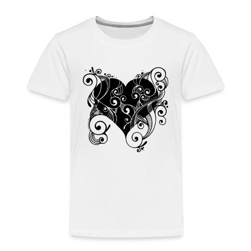 Isle of Heart Petal - Kids' Premium T-Shirt