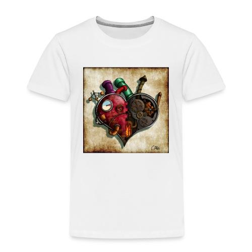 The Clockwork Heart - Kids' Premium T-Shirt