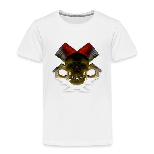 crane pistonné eclair - T-shirt Premium Enfant