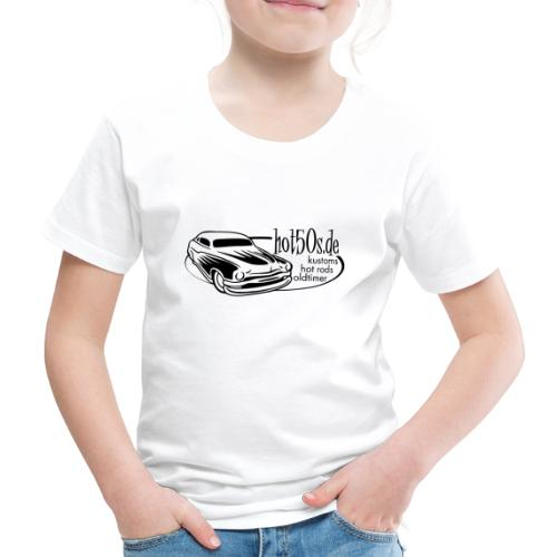 Hot50s Logo - Kinder Premium T-Shirt