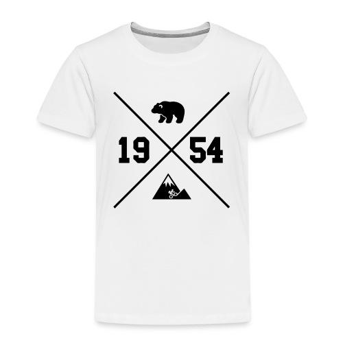 Karhuvuori -baseballhuppari - Lasten premium t-paita
