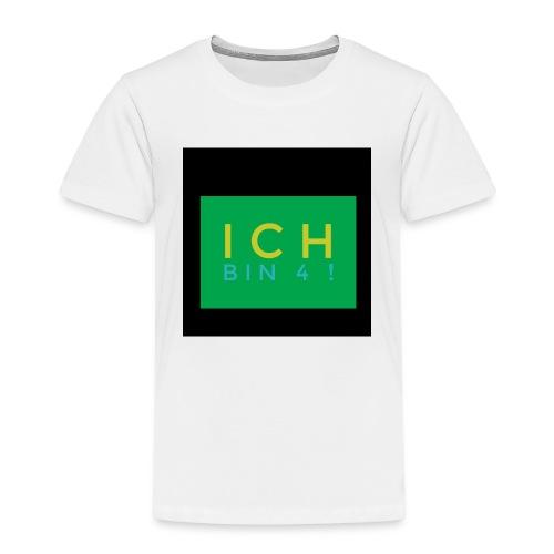 IMG 0270 Ich bin 4 - Kinder Premium T-Shirt