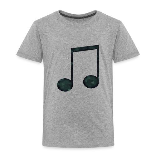 Low Poly Geometric Music Note - Kids' Premium T-Shirt