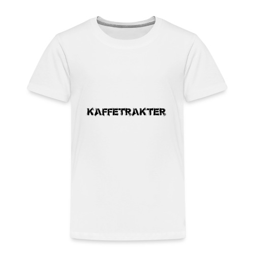 Tekst Logo - Premium T-skjorte for barn