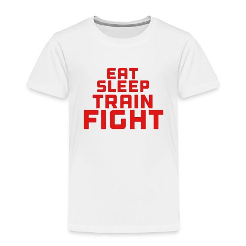Eat sleep train fight - Kids' Premium T-Shirt