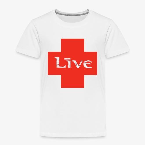 live cross HR png - Kinderen Premium T-shirt