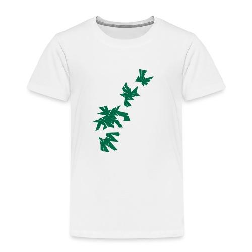 Green Leaves - Kinder Premium T-Shirt