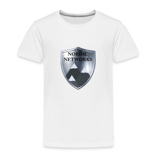 Nordic Networks Logo - Premium T-skjorte for barn