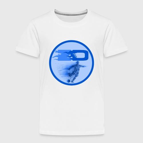 JR Footballers Logo Round - Kids' Premium T-Shirt