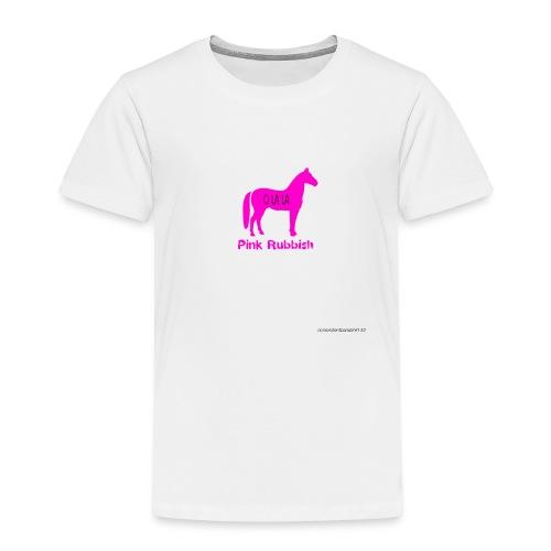 Pink Rubbish - Kinderen Premium T-shirt