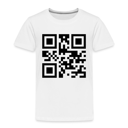 Sono Single QR Code - Maglietta Premium per bambini