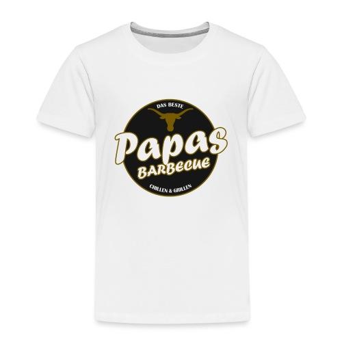 Papas Barbecue ist das Beste (Premium Shirt) - Kinder Premium T-Shirt