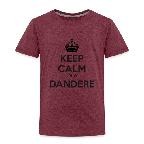 Dandere keep calm - Kids' Premium T-Shirt