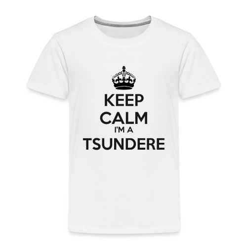 Tsundere keep calm - Kids' Premium T-Shirt
